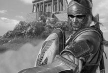 спартанцы,легионеры
