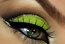 Inspirational eye make-up
