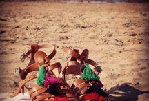 Handmade leather sandals / Sandals