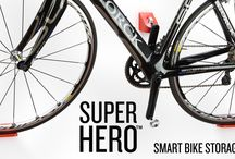SUPER HERO on Kickstarter / Our new bike storage solution needs your help. Partner with us on Kickstarter and make SUPER HERO real!   Kickstarter link: https://www.kickstarter.com/projects/1704021824/super-hero-the-ultimate-bike-display-and-storage-r