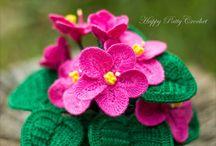 flor de croche