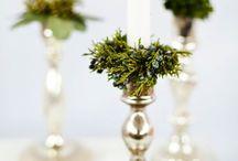 Evergreen decor