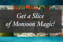 Artflute's Monsoon Magic / It's the unmistakable scent of impending rain on parched earth. It's the promise of romance. It's a time when the sweltering heat reluctantly gives way to the magic of the monsoon. Bringing with it strong cravings for hot chai and crisp pakoras, the rains always give you multiple reasons to celebrate. Artflute brings you art that is sure to fuel your imagination this monsoon.