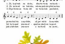 písničky a básničky podzim