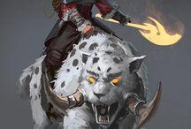 Werewolf and Feras