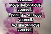 Self-Love: Esteem / Self-esteem
