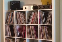 record stand