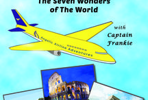 Teach Children World Geography / Learning about the world with fun reading and imagination travel.