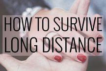 Das 1x1 der Fernbeziehung / Diese Tipps helfen euch, die Entfernung zu meistern!