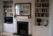 fireplace alcove ideas