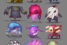 RPG - inspiracje na stwory / Bestie, stwory, potwory i zmory.