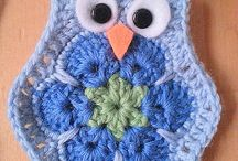 crochet African flower
