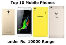 Top 10 Android Mobile Phones under Rs. 10000 Range (March 2016)