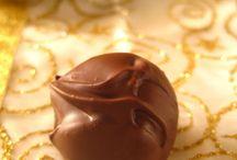 τρουφακια και σοκολατακια