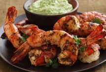 Seafood Platter / Shrimp, lobster, crab, fish, oh my! / by Jennifer Bass