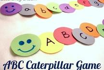 Bermain huruf dan angka / Bermain sambil mengenal huruf dan angka