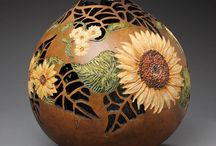 Gourd art and craft