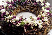Aranging decoration / Aranging flowers, coronal and other decoration.