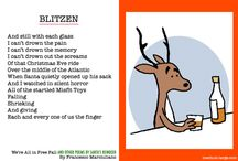 We're All in Free Fall and Other Poems by Santa's Reindeer