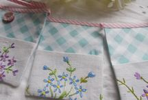 Vintage Embroidered Bunting / by Viva Violette