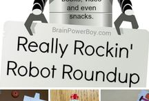 Play date - Robots / A board with fun games and activities related to robots!! / by Encourage Play