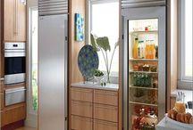 Glass Door Home Refrigerator / Stainless steel refrigerators, glass door, commercial refrigerators.