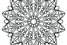 Coloring Pages / Love coloring? Check out these coloring pages from Away With The Pixels and To Color. Coloring pages isn't just for kids - these coloring pages are perfect for grown ups too! You'll find these pages in my Etsy stores!