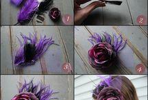 hair/headpiece / headpiece ideas/diy/inspiration