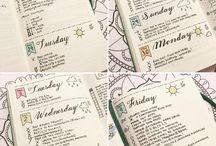 BuJo - Bullet Journalling / Planning & Journaling