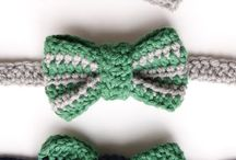 Knit/crochet necklaces/hair acc
