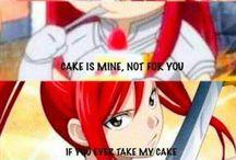 Fairy Tail Don't mess with Erza