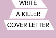 Resumes + Cover Letters