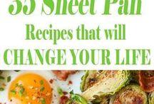 sheet pan variety recipes