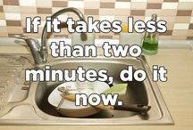 Time Management Ideas / How to manage your time better and be more efficient at work, home and in life.