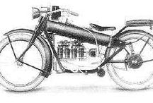 Heritage / Images of old fashion Nimbus motorcycles.