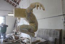 Atelier / Atelier do escultor Rogério Timóteo