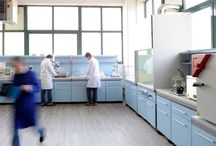 Ricerca ed innovazione / Ricerca ed innovazione sono le keywords sulle quali, l'Officina chimica in movimento, ha costruito la propria filosofia e che le hanno permesso di divenire, in pochi anni, riferimento importante nel panorama della chimica conciaria.
