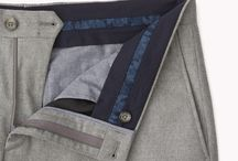 Мужские брюки,обработка