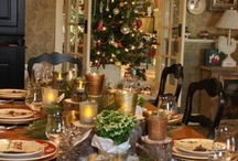 Holiday: Christmas Tablescapes and Buffets