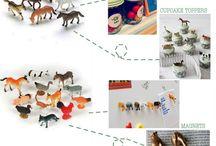 DIY Plastic Animals