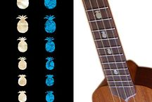 "Fruits / inlay sticker ""Fruits"" guitar/ukuele decals"