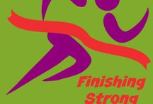 Finishing Strong / This is the weekly link-up hosted by 4 bloggers for middle and high school posts.
