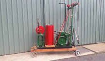 Vintage engines and machines / Vintage power plants and tools
