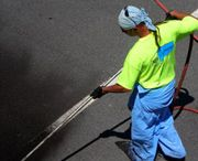 Asphalt Sealcoating / Asphalt sealcoating can be compared to the protective powers of an SPF moisturizer that you apply to your skin. It protects your asphalt surface.
