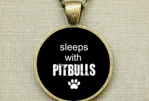 "A Pitbull saved me. / ""More pit, less bull."" Stop breed specific legislation. / by Brittany Lynne"