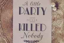 • PARTY LIKE GATSBY •