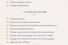 my wedding plan