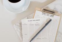 Organization / Keep organized!