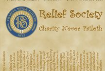 Relief Society Ideas  / by Heidi Nye