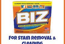 Laundry Tips / by Biz Stain & Odor Eliminator